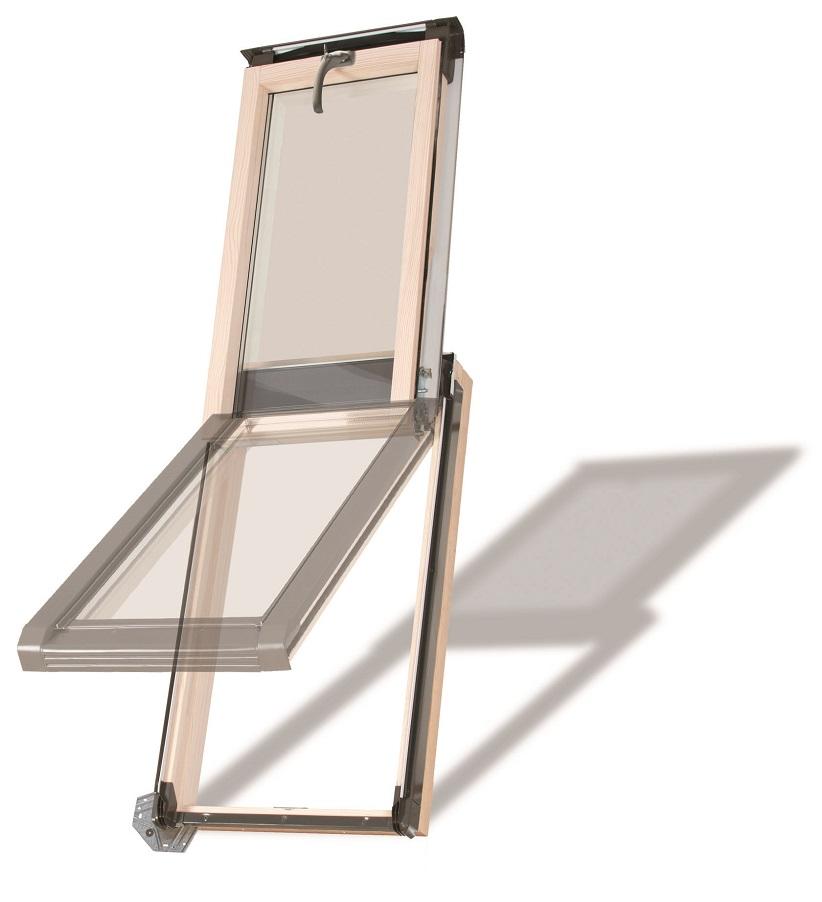 dachausstiegsfenster versa wns 55x78 holz f r warmr ume. Black Bedroom Furniture Sets. Home Design Ideas